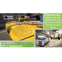 Collage Yellow Trabants
