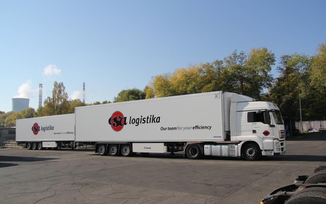ESA logistika is renewing and increasing fleet