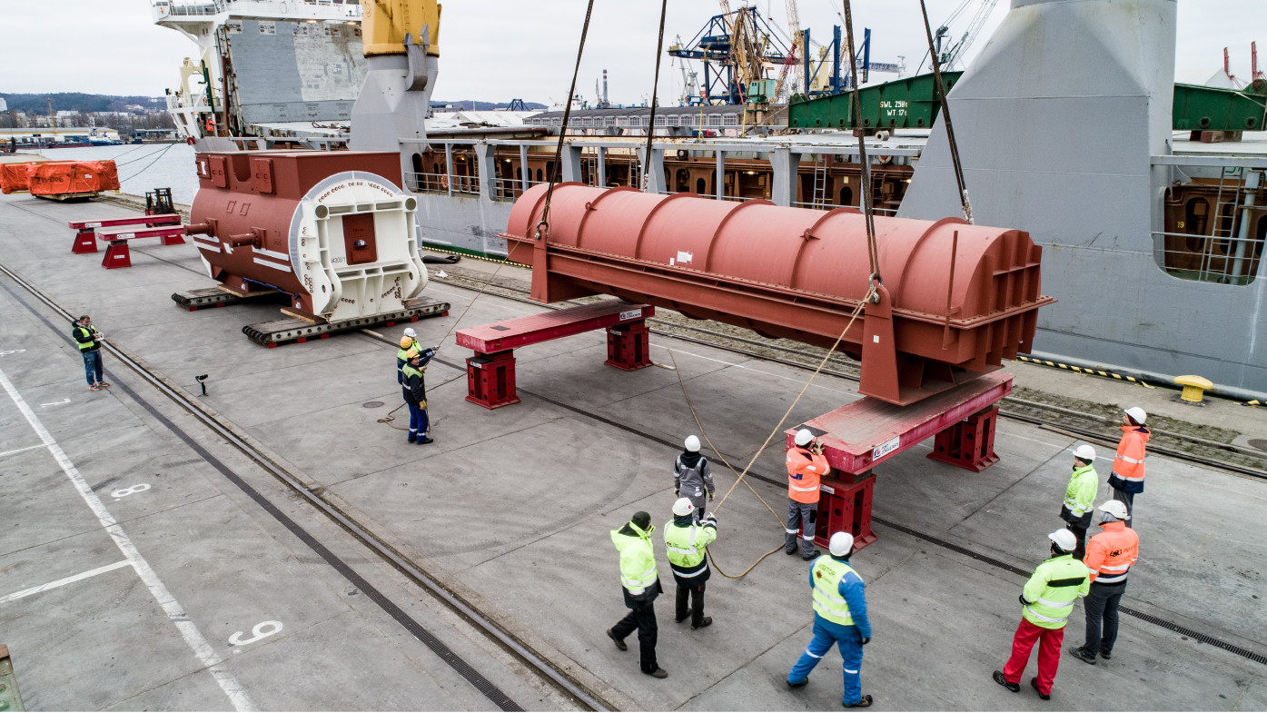 Project logistics - case studies - multimodal trensport