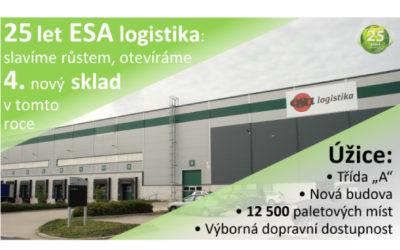 New warehouse in Úžice
