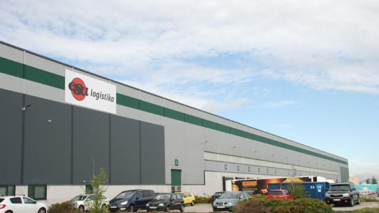 ESA logistika warehouse - Úžice