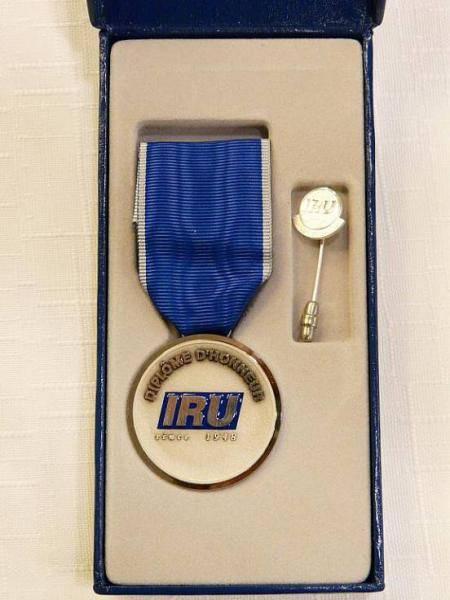 Sedm řidičů ze společnosti ESA získalo ocenění IRU