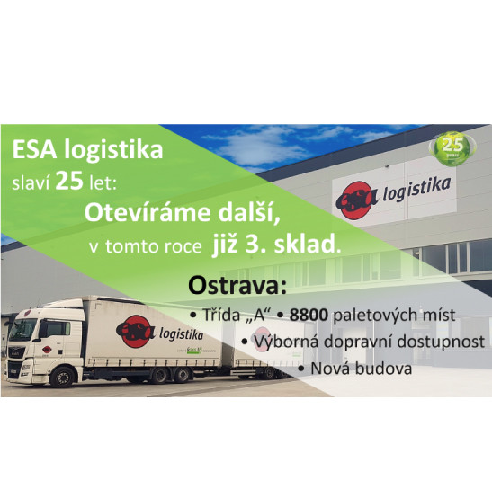 ESA logistika is opening Ostrava warehouse
