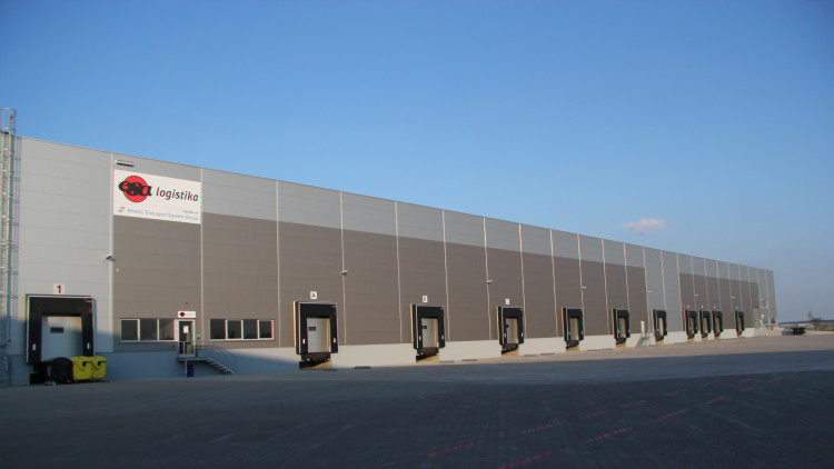 ESA logistika warehouse - Tuchomerice