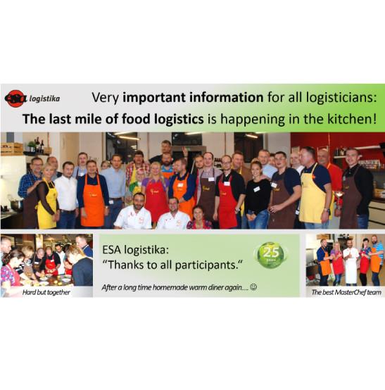 ESA logistika event for customers – Chefparade