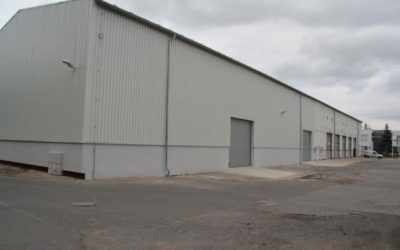 ESA logistika has a new own warehouse for 1500 pallets