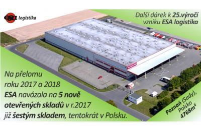 Otvorili sme ďalší nový sklad, tentokrát v Poznani v Poľsku