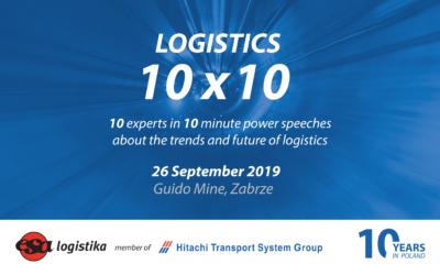"""10 Ekspertów w 10-minutowych prelekcjach """"power speech"""" o trendach i przyszłości branży logistycznej"""