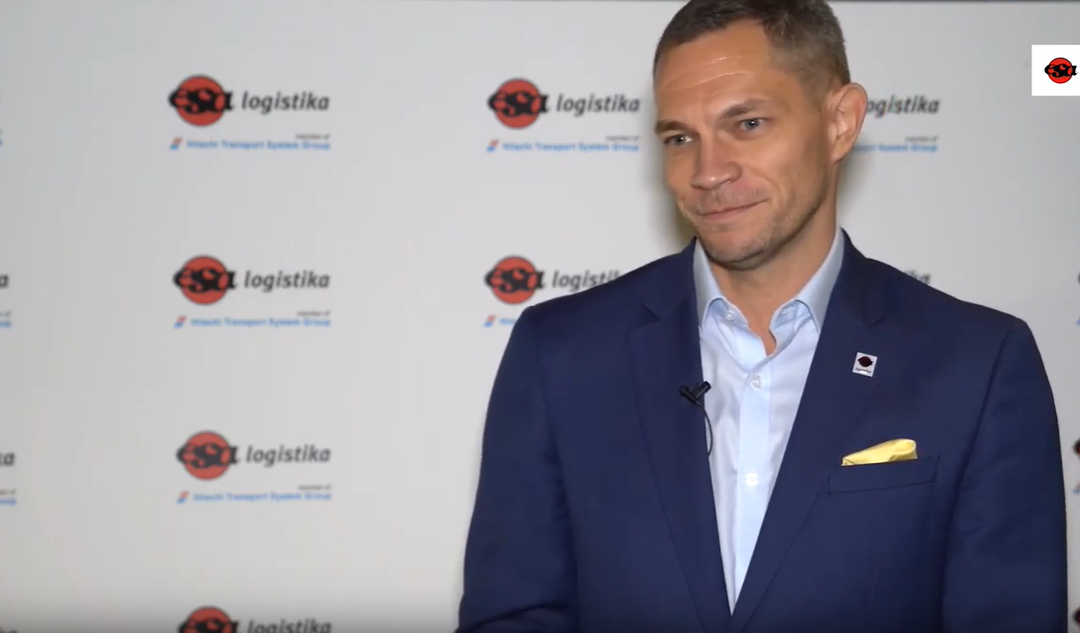 Rozmowa z Markiem Cvačką w trakcie jubileuszu ESA logistika