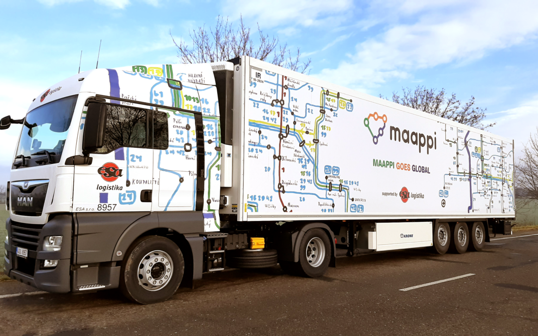 ESA logistika helps MAAPPI to cross the border of the Czech Republic!