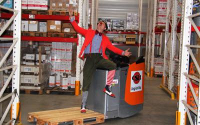 Máme klauny ve skladu! Pomáháme Chance for Children