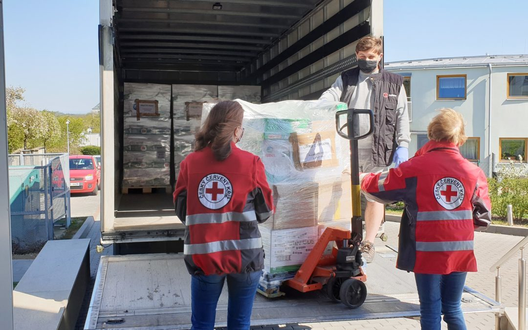 We help the Czech Red Cross