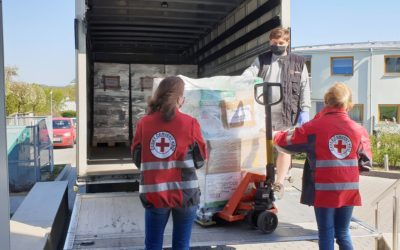 We help the Czech Red Cross