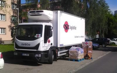 We continue our cooperation with the Czech Red Cross