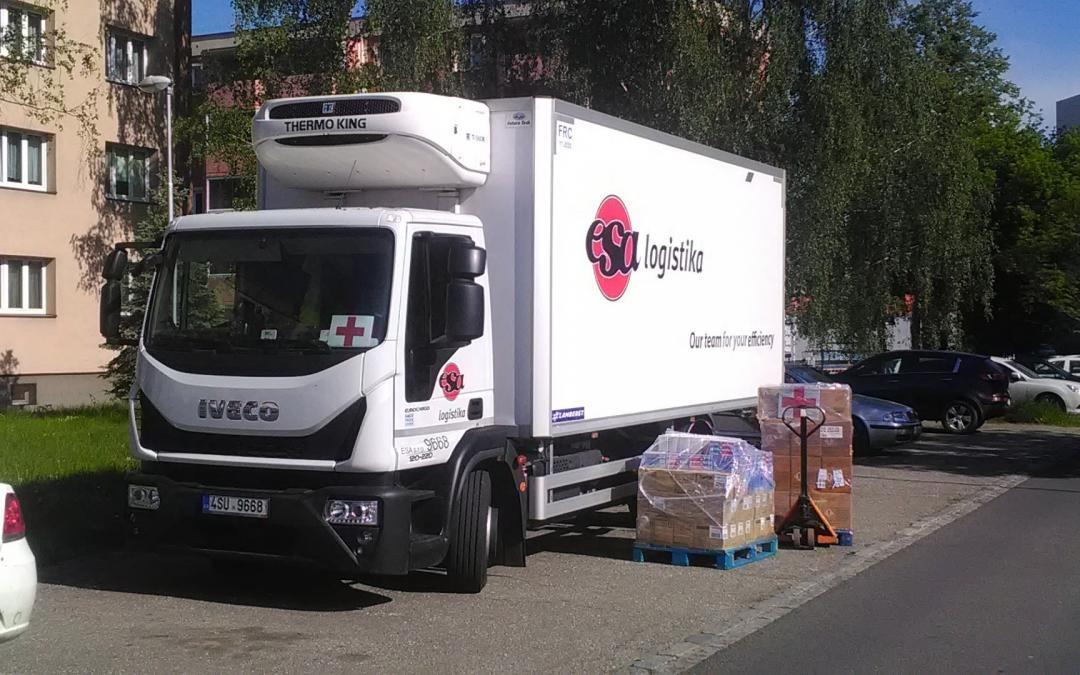 Pokračujeme ve spolupráci s Českým červeným křížem