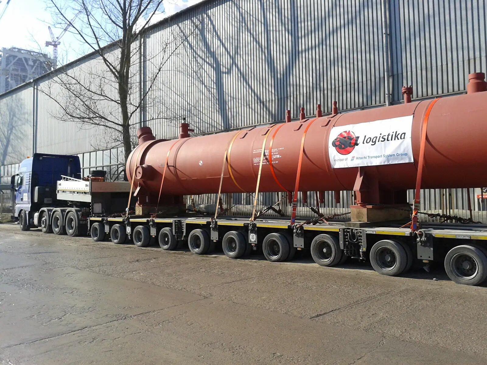 Rozwiązania transportowe, dostawa ładunku ponadgabarytowego, transport drogowy