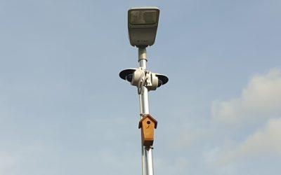 Modernizace kamerového systému a osvětlení v areálu HQ Kladno.