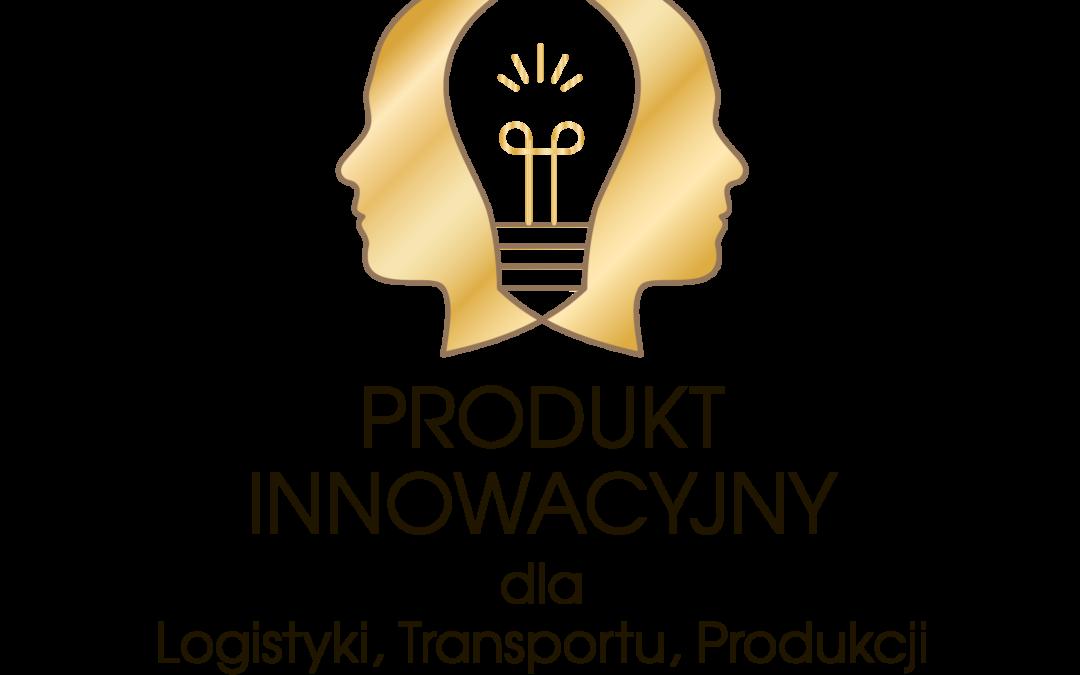 """Nagroda Główna w konkursie """"Produkt Innowacyjny dla Logistyki, Transportu i Produkcji 2020"""" dla ESA logistika."""